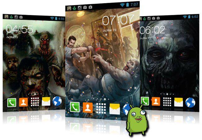 Wallpapers animados de zombies para Android gratis. Son fondos de pantalla con movimiento para teléfonos y Tablets Android con tematica de zombies #zombies #wallpapers #android