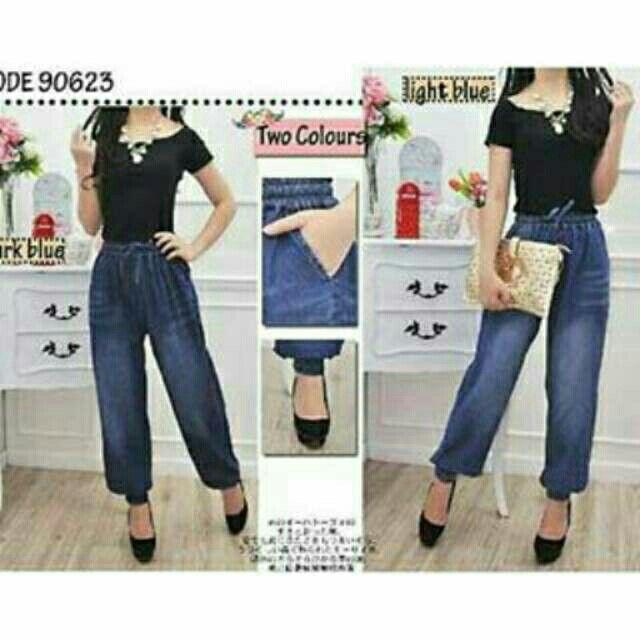 Saya menjual Jogger Jeans seharga Rp179.000. Dapatkan produk ini hanya di Shopee! https://shopee.co.id/deventostore/6598933 #ShopeeID