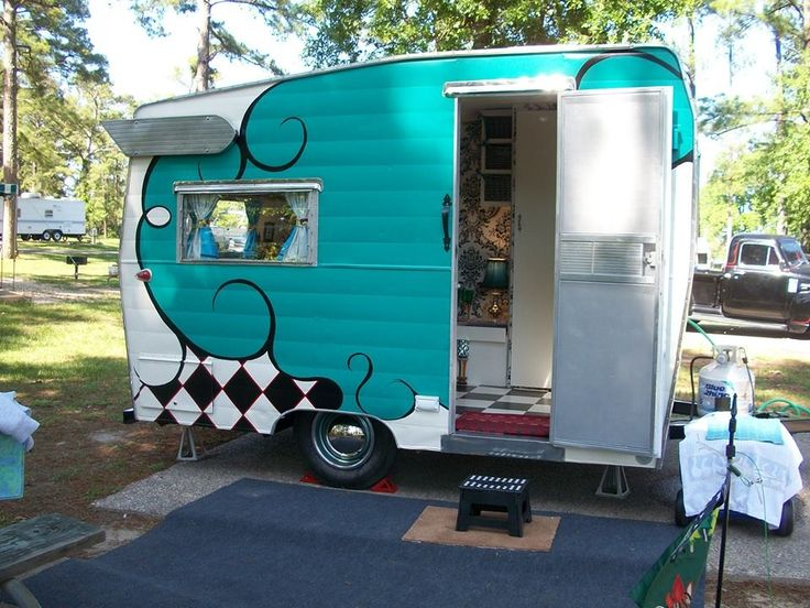 100 Best Images About Camper Exteriors On Pinterest Paint The Fly And Campers