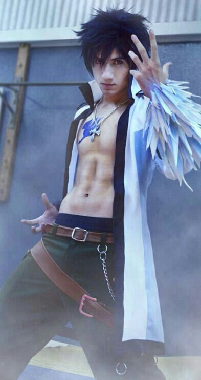 Fairy tail cosplay gray fullbuster ;D | Cosplay | Pinterest