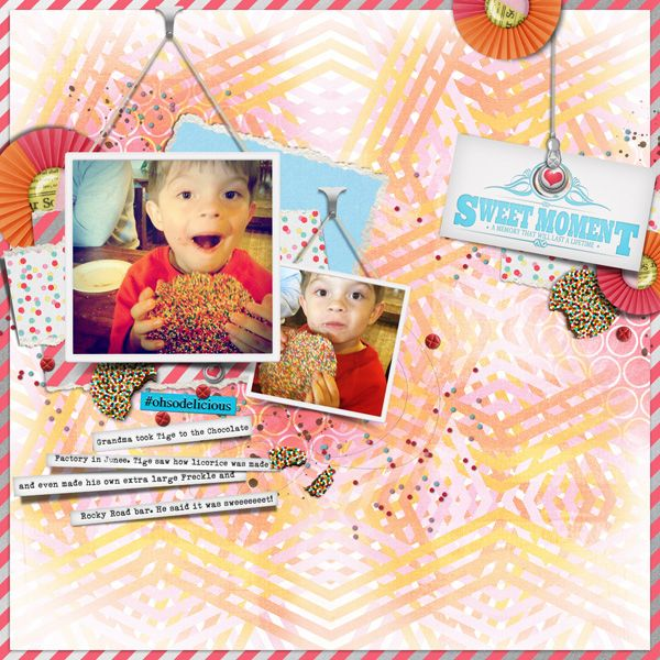 Curate It Vol.1 {Picture Hanging} for Digital Scrapbooking by The Nifty Pixel