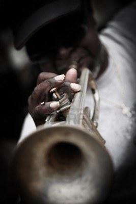 New Orleans, Stati Uniti d'America - Aprile 23,2012: musicista Street, nel quartiere francese di New Orleans