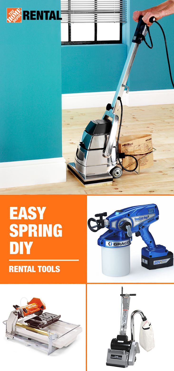Refreshing Your Home This Spring Doesn T Have To Be Complicated With Tools From The Home Depot You Can Diy Home Improvement Diy Wood Floors Wood Floor Repair