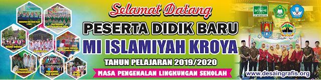 Desain Banner Selamat Datang Siswa Baru cdr | Desain ...