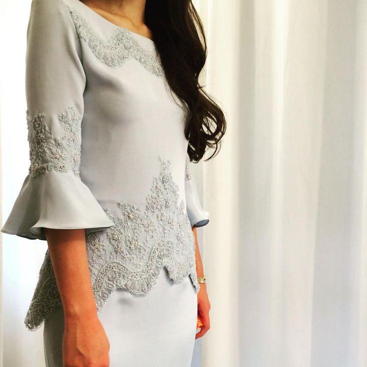 """Subtle detailing for our lovely @imanabdullah #yadotsa #custom #wedding #lace"""