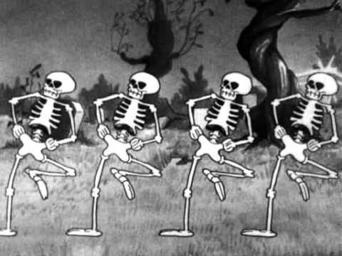 ▶ cortos disney - el baile de los esqueletos - YouTube