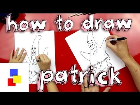 How To Draw Patrick From Spongebob - YouTube