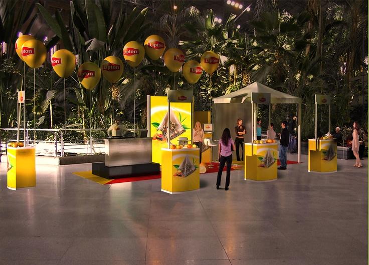 Barcelona, Render, 3D de Guernik Empresa Lipton
