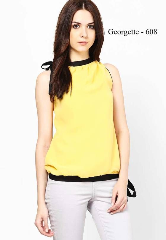 Shopo.in : Buy Neels Georgette Top online at best price in Bangalore, India