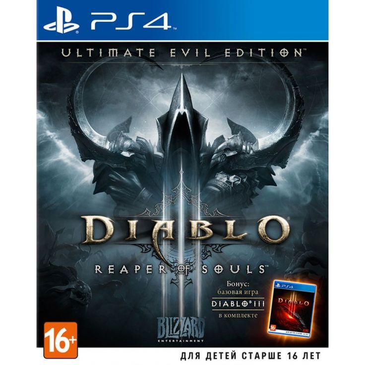 Diablo III: Reaper of Souls (Ultimate Evil Edition) Игра для PS4