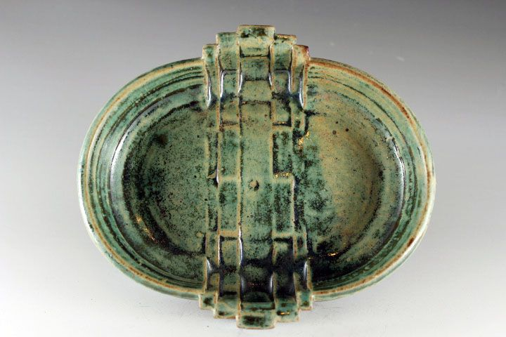 Soda fired bowl by Lauren Young