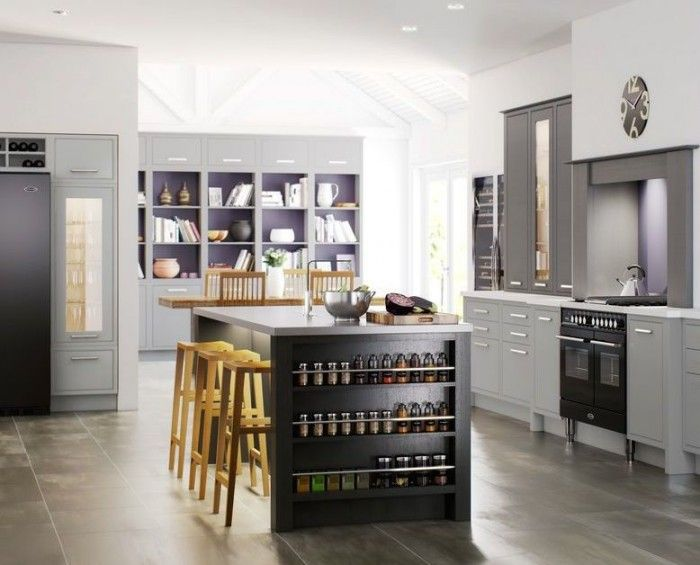 Fitted storage solutions maximise space and give a beautifully streamlined look. Be inspired by these space-saving kitchen ideas from Bruce Thomas, designer at Mereway Kitchens.