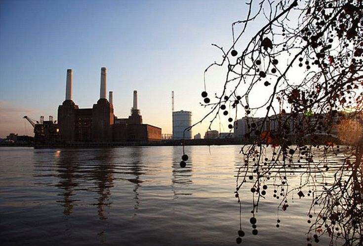 Battersea Power Station, Battersea.      An icon of 1930s industrial splendour, Battersea Power Station's art deco heritage is most apparent on the inside. There are many striking fittings and decorations, including Italian white marble wall tiles.  Picture: Alamy