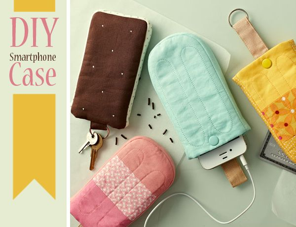 a DIY Smartphone case that looks like a popsicle!
