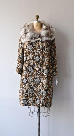 Paddington Station coat vintage 1960s tapestry coat by DearGolden
