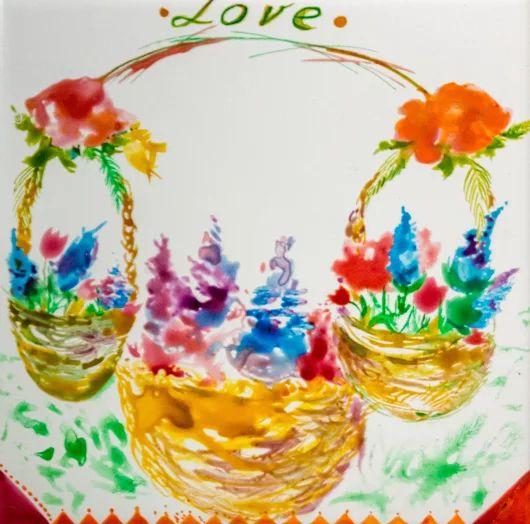 Корзины цветов Корзины цветов с любовью для всех! Детская тематика Керамическая плитка для кухни и ванной комнаты 20X20  Краска по керамике Комментируйте, плюсуйте, задавайте вопросы, заказывайте :) #корзина #сцветами #керамическаяплитка #рисование #сюжет #ваннаякомната #кухня #изо #рисуемнаплитке #рисованиенаплитке #рисованиенакерамике #плитканакухню #плитканазаказ #плиткавванную #мастеркласспорисованию #сказкидлядетей #краскапокерамике #праздниккнамприходит #любовь #love