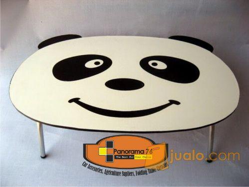 Meja Lipat Karakter Panda Lucu untuk anak-anak Retail/Grosir Meja Lipat Karakter Lucu untuk anak-anak ,ringan dan kok