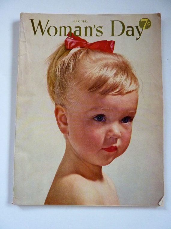 Woman's Day Magazine July 1952 Color Ads by BonniesVintageAttic