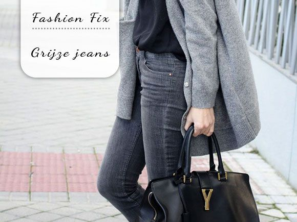 Fashion Fix: Grijze jeans