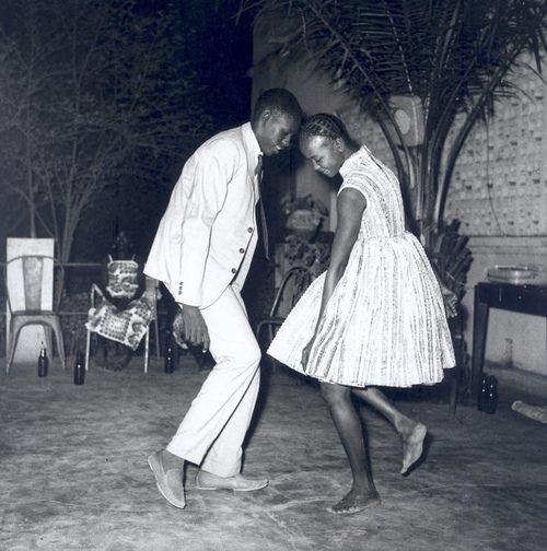 Barefoot dancing.