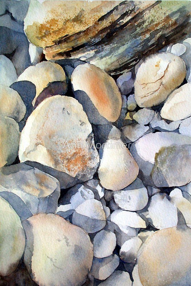 « Rocks and Pebbles » par Ann Mortimer