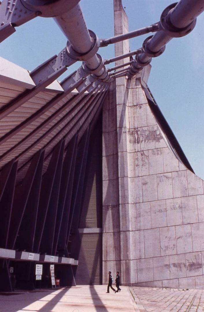 Estadio Olímpico. Kenzo Tange