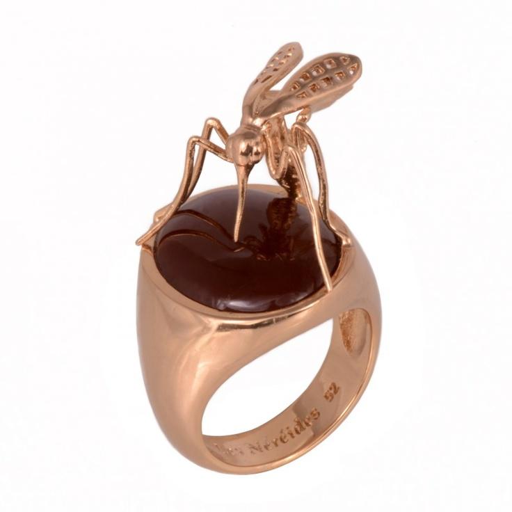 Les Néréides Ring Curieux Insectes stupendo!!