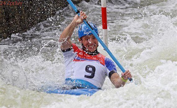 Kajakáři získali na ME ve vodním slalomu zlato v závodě hlídek