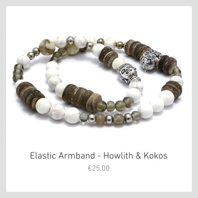"""€3.75 of your purchase will help elephants. Bracelet, cocos, elephant, buddha, €25.00. With each purchase you will help elephants. We donate 10%-15% of each selling product to the """"Friends of the Asian Elephant"""" Organisation. Your Designed by UL Team. https://www.designedbyul.com"""