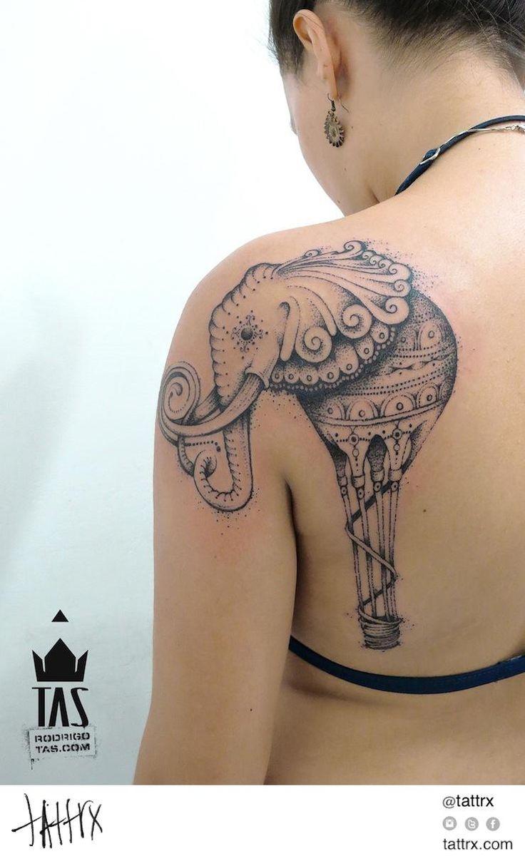 hot air balloon elephant tattoo - Bing Immagini