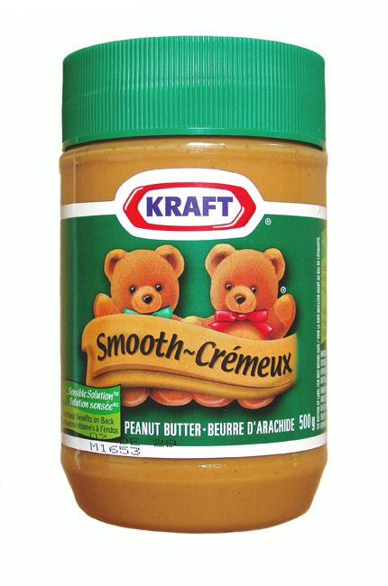 Kraft Peanut Butter. Another favorite of home