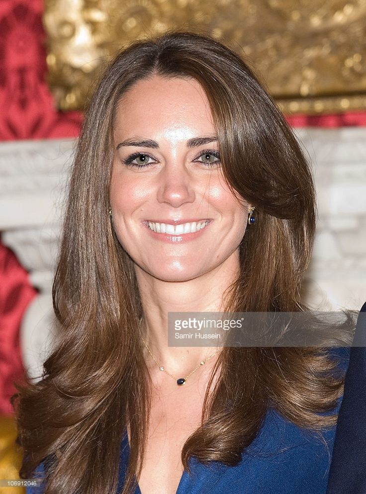 Kate Middleton poses for photographs in the State Apartments of St James Palace on November 16, 2010 in London, England. After much speculation, Clarence House today announced the engagement of Prince William to Kate Middleton. The couple will get married in either the Spring or Summer of next year and continue to live in North Wales while Prince William works as an air sea rescue pilot for the RAF. The couple became engaged during a recent holiday in Kenya having been together for eight…