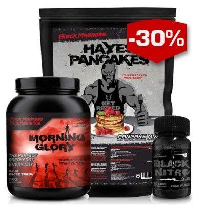 Black Madness Stay in Shape Paket är ett fullständigt paket packat med produkter…