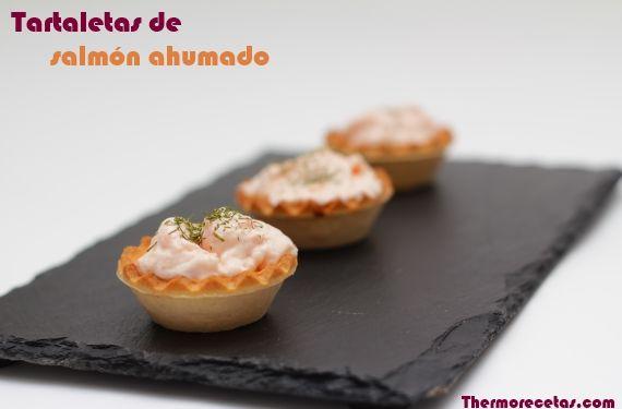 246 best tus recetas de salm n ahumado images on pinterest for Canape de salmon ahumado