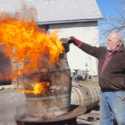 Torching Wood for Terroir with Canada's Last Living Barrel-Maker