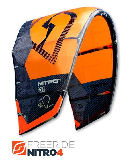 Nitro4 Kite | SwitchKites