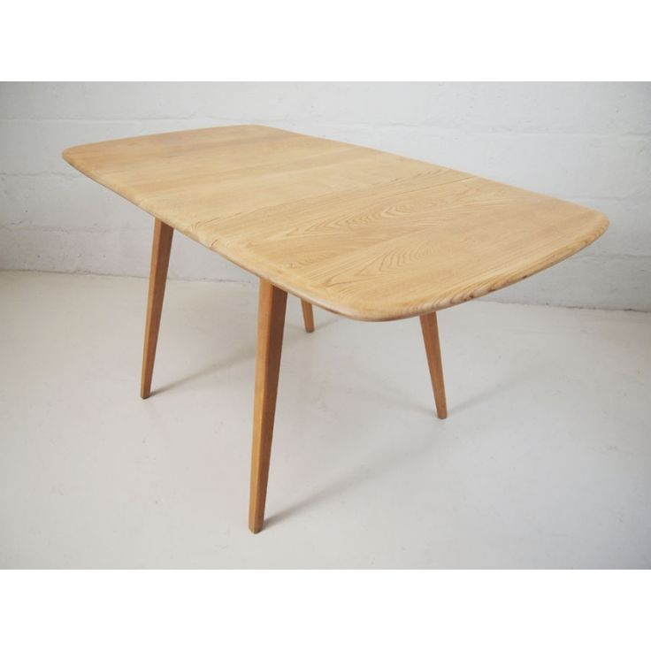 BY ERCOL FURNITURE ENGLAND 1960'S  Dimensions: EXTENDED LENGTH: 138CM Width: 75CM Height: 72CM