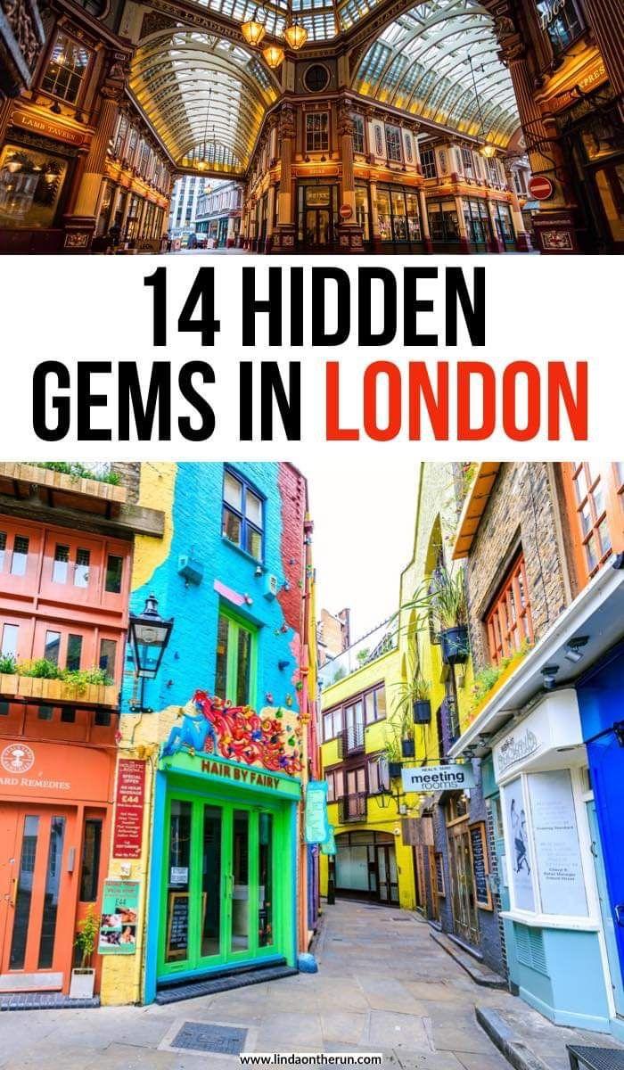 14 Versteckte Schätze in London   – Linda On The Run