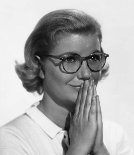 Barbara Bel Geddes in Vertigo (A. Hitchcock), 1958