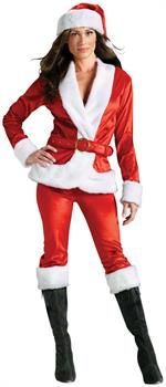 PartyBell.com - Mrs. Santa Suit Adult Costume