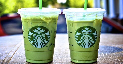 So, Hi: diy starbucks iced green tea latte.