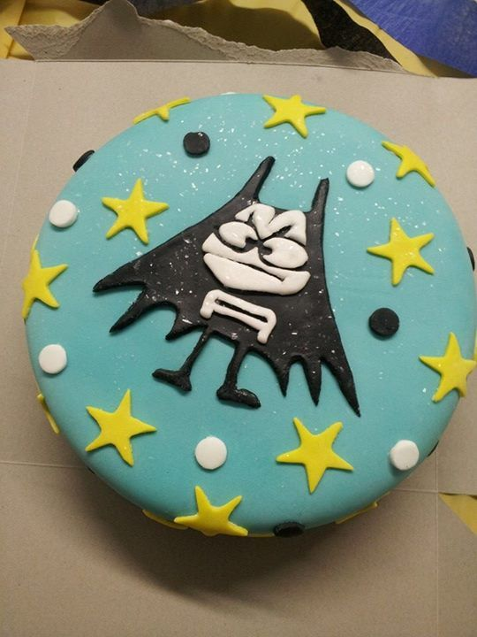 Aquabats birthday cake. By Suzanna Carter Nutter (Perfect!!!)