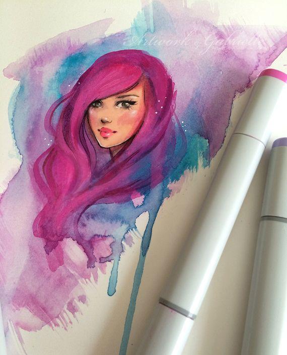 Watercolor by gabbyd70 on DeviantArt