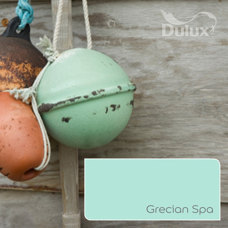 Oh buoy! This fresh, minty green looks like it has been painted with our Grecian Spa 4 paint. This unusual colour can be found all over the catwalks this Summer and you can now bring it to your home.