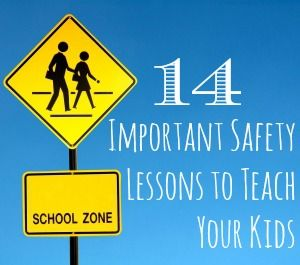 14 Important Safety Lessons to Teach Your Kids by babble. Image credit iStockPhoto #Kids #Safety