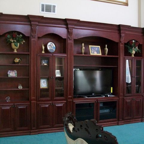 Entertainment Centers and Wall Units - traditional - Family Room - Orange County - CustomBuilt-ins.com / CFM Company Inc.
