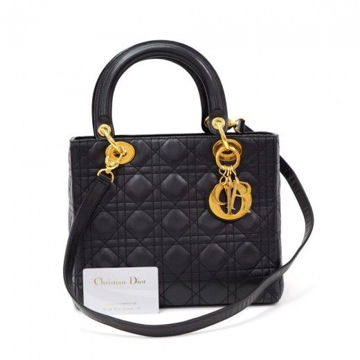 17 Best Ideas About Lady Dior Bags On Pinterest Handbags