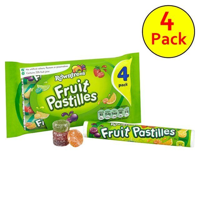 Fruit pastilles remind me of my mum because each day after school she would take me to the sweet shop and we would buy Fruit Pastilles - Rowntree's Fruit Pastilles