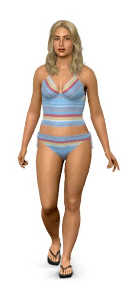 How cool is this!!  Check out this bathing suit on my virtual model.  Is this the best one?