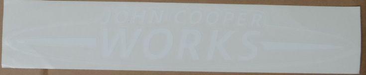 $9.99 John+Cooper+Works+Sticker+JCW+Mini+Cooper+Sticker
